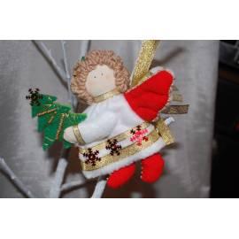 Новогодний ангелочек - в подарочной коробке