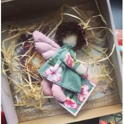 Цветочное пожелание - в подарочной коробке