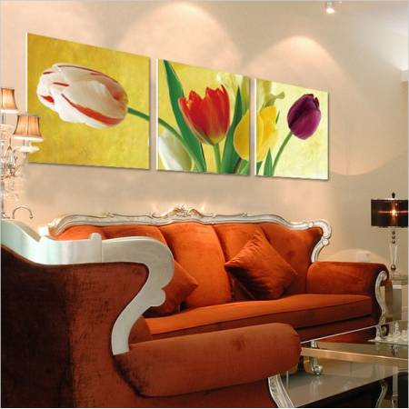 Картина по номерам Разноцветные тюльпаны MT3075,