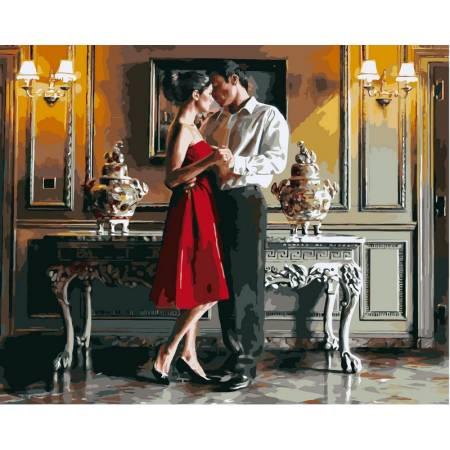 Картина по номерам «Романтический вечер», модель VP374