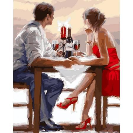 Картина по номерам Романтическое свидание VP448, Babylon