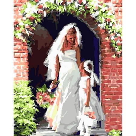 Картина по номерам Свадебный ангел VP454, Babylon