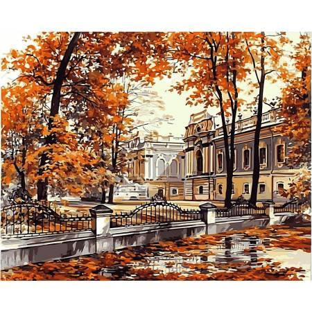 Картина по номерам «Мариинский дворец худБрандт, Сергей», модель VP499