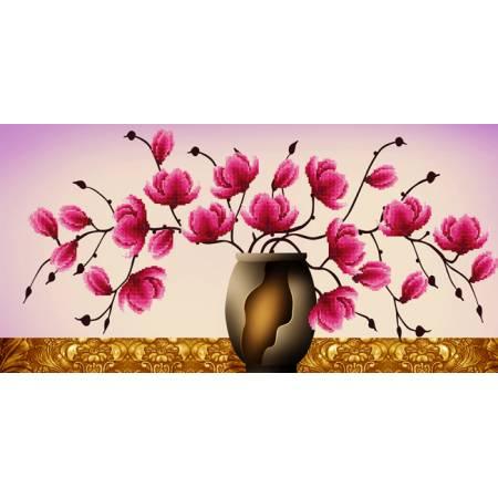 Картина по номерам Розовая орхидея  (5D-049), Lasko