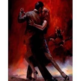 Алмазная вышивка -Танец страсти