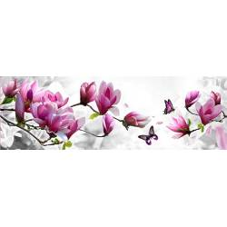 Алмазная выкладка - Бабочка на цветочной ветке