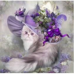 Алмазная живопись - Кошечка