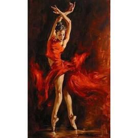 Набор алмазной техники - Танцовщица