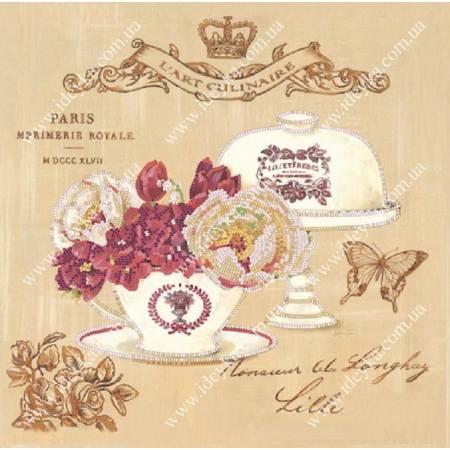 «Вышивка бисером на подрамнике - Королевский Париж», модель ВБ1058