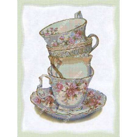 Картина по номерам Английский чай (ВБ1069), Идейка