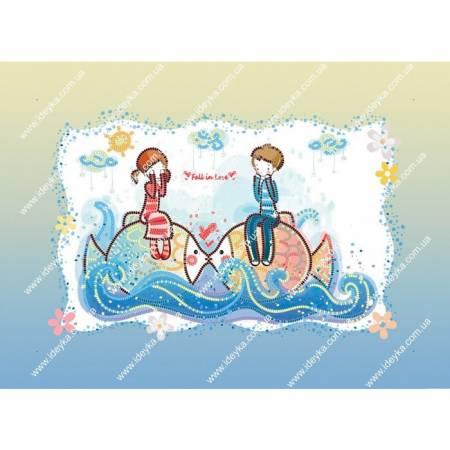 Картина по номерам Море любви (ВБ2031), Идейка