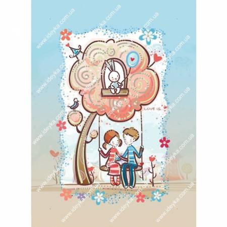 Картина по номерам Счастливы вместе (ВБ2032), Идейка