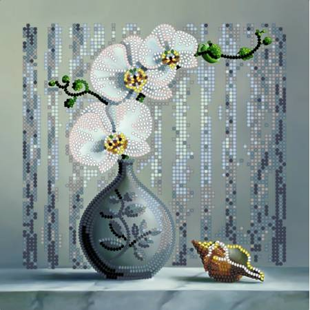 Картина по номерам Орхидея (ВБ1007), Идейка