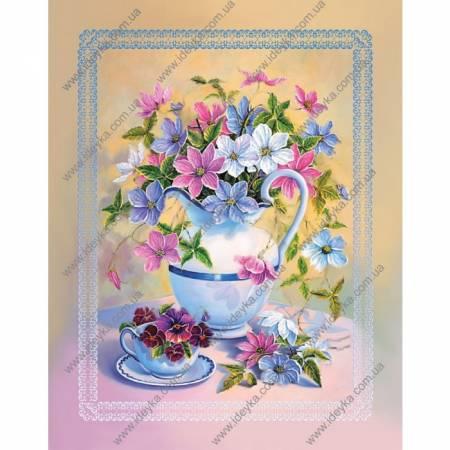 Картина по номерам Цветы в кувшине (ВБ1066), Идейка