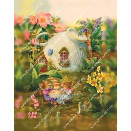 Картина по номерам счастье мышки  (ВБ1076), Идейка