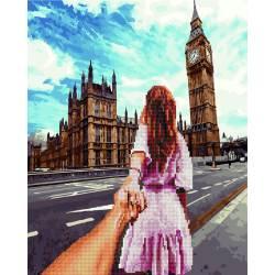 Алмазка-картина Следуй за мной Лондон