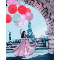 Алмазка-картина Романтика Парижа
