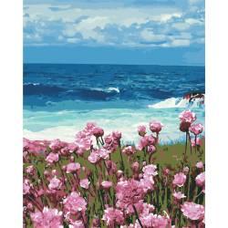Цветы у моря