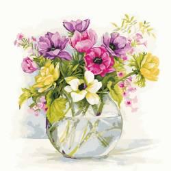 Нежные садовые цветы