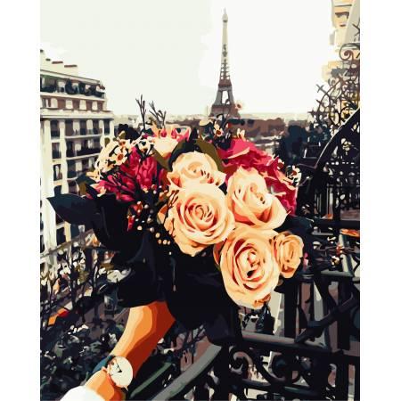 Картина по номерам Мечты про Париж AS0694, ArtStory