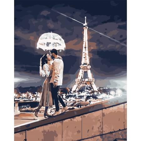Картина по номерам Любовь в Париже AS0750, ArtStory
