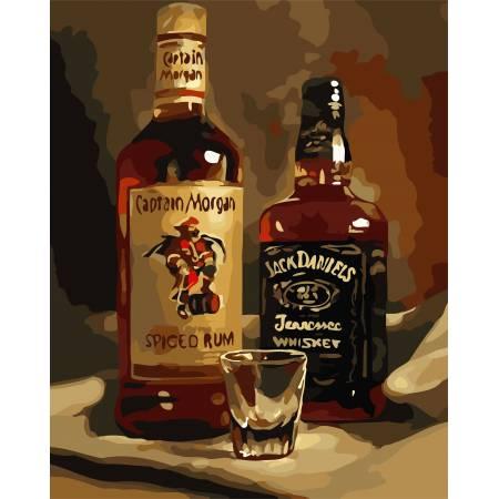 Картина по номерам Крепкий напиток AS0777, ArtStory