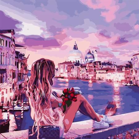 Картина по номерам Вечер в Венеции AS0810, ArtStory