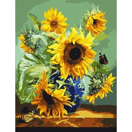 Картина по номерам Натюрморт подсолнухов  AS0822, ArtStory