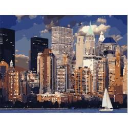 Вечер в Нью-Йорке