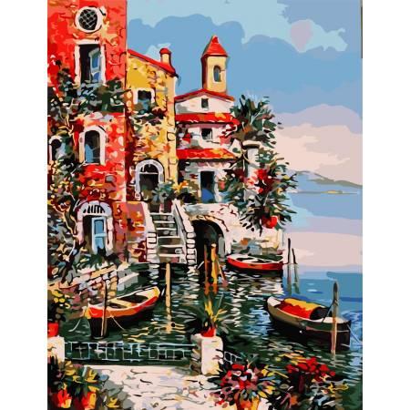 Картина по номерам Южный берег  AS0829, ArtStory