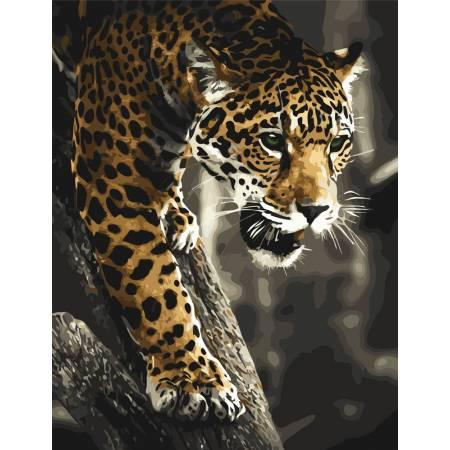 Картина по номерам Хищник в джунглях  AS0832, ArtStory