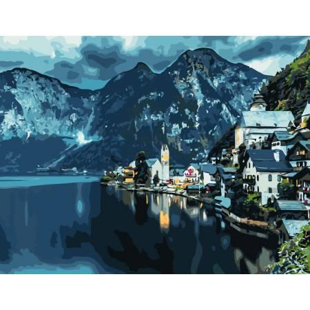 Картина по номерам Австрийский берег  AS0834, ArtStory