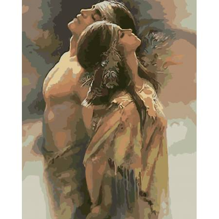Картина по номерам Надёжное плечо AS0048, ArtStory
