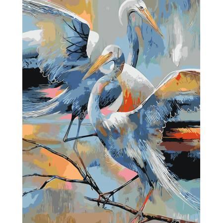Картина по номерам Аисты AS0075, ArtStory