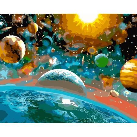 Картина по номерам Красота вселенной AS0104, ArtStory