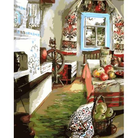 Картина по номерам Украинский уют AS0107, ArtStory