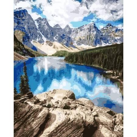 Картина по номерам Прекрасные горы AS0150, ArtStory