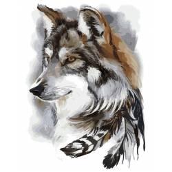 Индейский волк