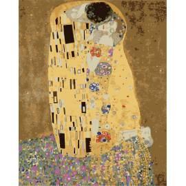 Поцелуй в золотой ауре