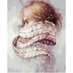 Девушка - зима