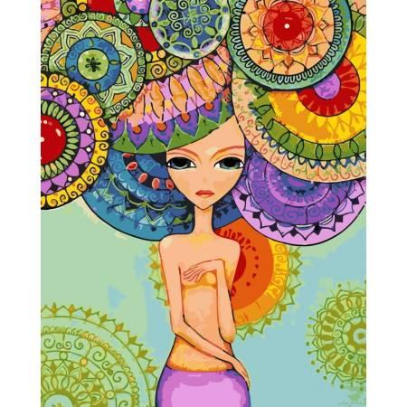 Картина по номерам Разноцветная гармония AS0198, ArtStory