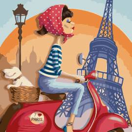 Дама в Париже
