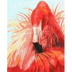 Яркий фламинго