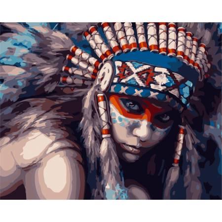 Картина по номерам Принцесса инков AS0288, ArtStory
