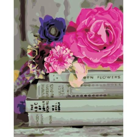 Картина по номерам «Любимые книги», модель AS0331