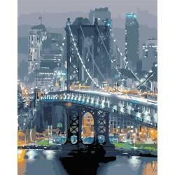 Бруклинский мост вечером