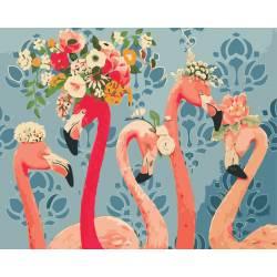 Красотки фламинго