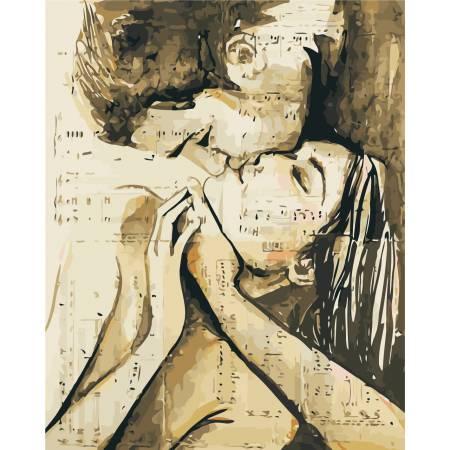 Картина по номерам «Песня любви», модель AS0431