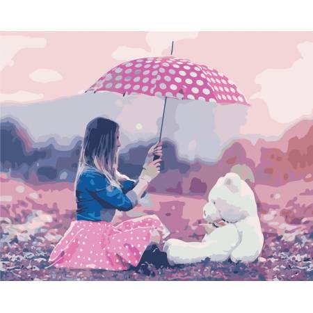 Картина по номерам «Девичьи мечты», модель AS0445