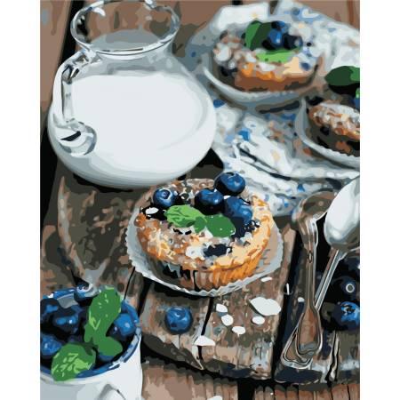 Картина по номерам «Вкусный завтрак», модель AS0458